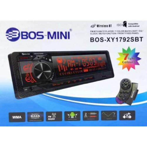 автомагнитола+Bluetooth+USB+AUX+Радио BOS-XY1792SBT