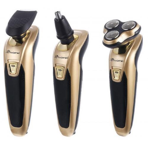 машинка для стрижки волос+бритва+триммер 3в1 Gemei GM-578