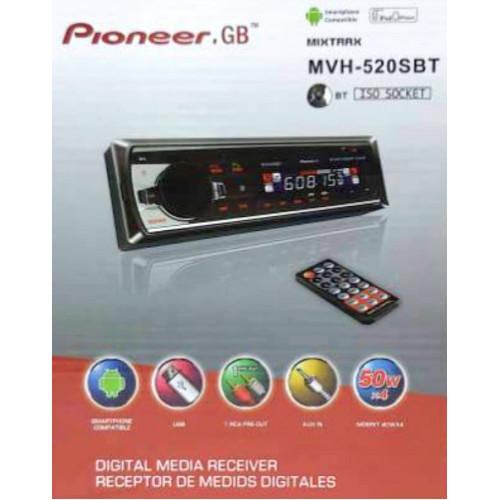 автомагнитола+Bluetooth+USB+AUX+Радио MVH-520SBT