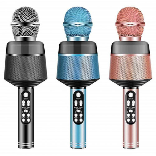 колонка микрофон+Bluetooth+USB+радио+аккумулятор Q008