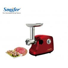 мясорубка Sonifer с обратным реверсом, 3 носадки, мощность 3000w SF-5011