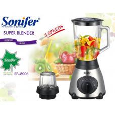 блендер измельчитель Sonifer, 3 режима скорости, мощность 400w SF-8006