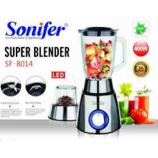 блендер измельчитель Sonifer, 5 режима скорости, мощность 400w SF-8014