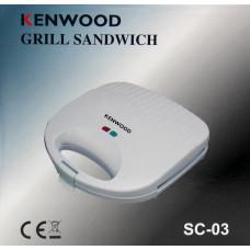 сендвичница-бутербродница Kenwood, мощность 750w SC-03