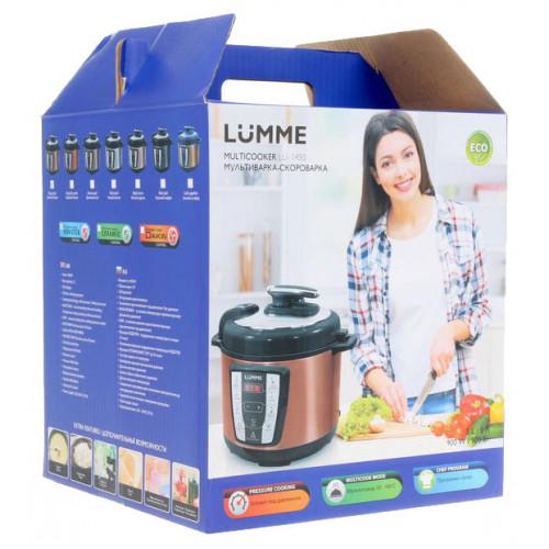 мультиварка LUMME 20 программ, емкость 5л, мощность 900w LU-1450