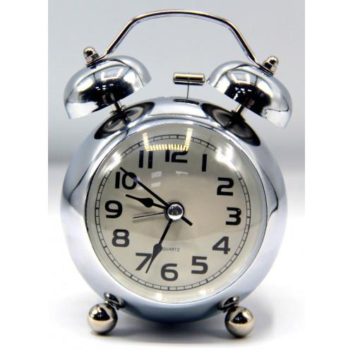 часы+будильник+подсветка 670-2 WP