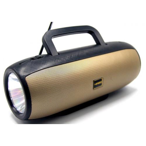 колонка KIMISO KM-103+Bluetooth+USB+SD+радио+фонарик+аккумулятор (1 сорт)
