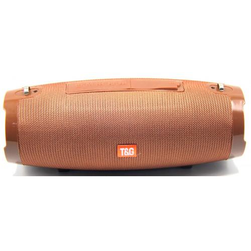 колонка Portable TG-504+Bluetooth+USB+радио+4 динамика+аккумулятор+Power Bank (1 сорт)