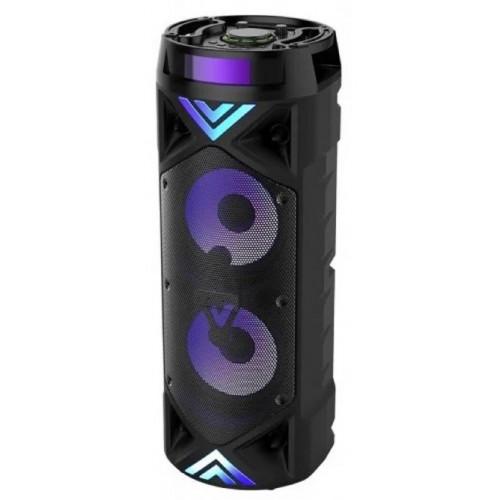 бумбокс+Bluetooth+USB+SD+радио+аккумулятор+микрофон+пульт+светомузыка ZQS-6201
