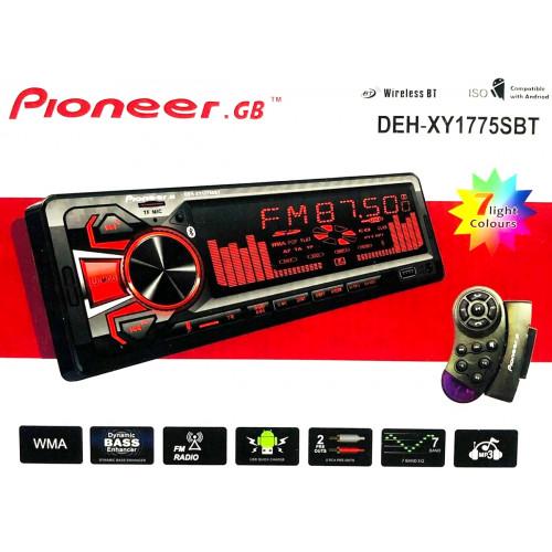 автомагнитола+Bluetooth+USB+AUX+Радио DEH-XY1775SBT