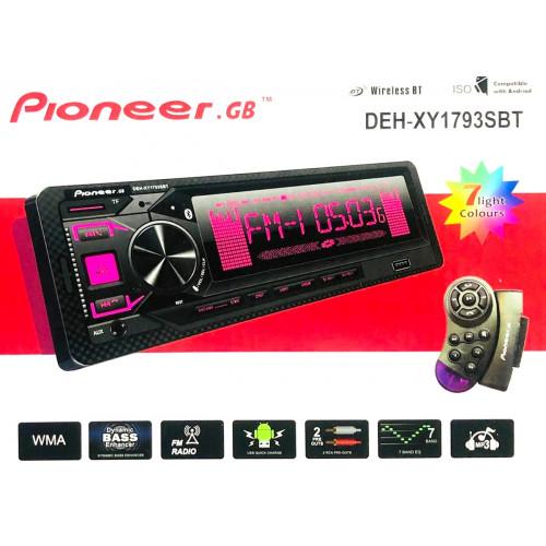 автомагнитола+Bluetooth+USB+AUX+Радио DEH-XY1793SBT