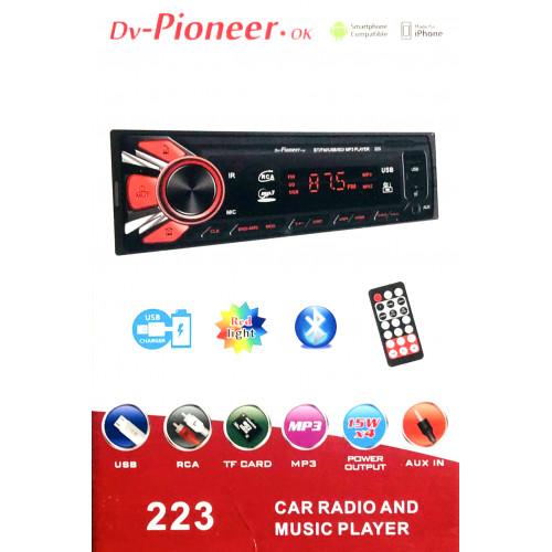 автомагнитола+Bluetooth+USB+AUX+Радио 223
