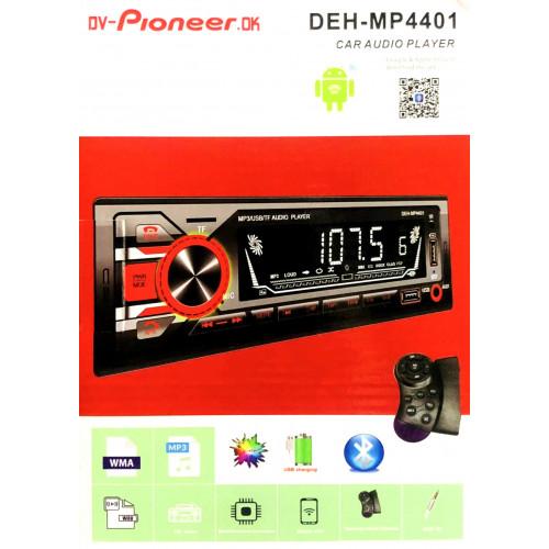 автомагнитола+Bluetooth+USB+AUX+Радио DEH-MP4401