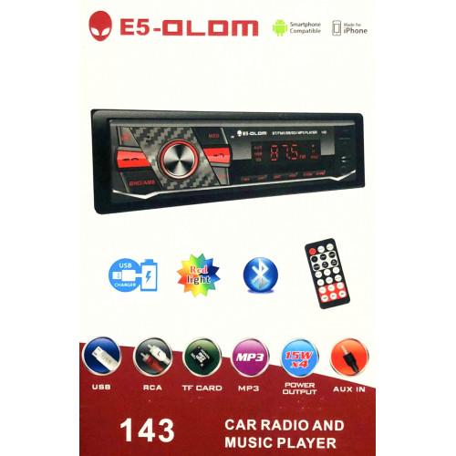 автомагнитола+Bluetooth+USB+AUX+Радио E5 143