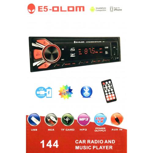автомагнитола+Bluetooth+USB+AUX+Радио E5 144