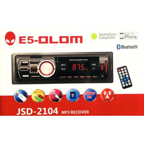автомагнитола+Bluetooth+USB+AUX+Радио E5 JSD-2104