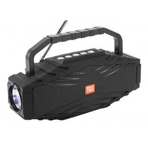 колонка TG-804+Bluetooth+USB+радио+4 динамика+фонарик+аккумулятор