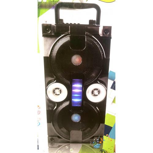 бумбокс+Bluetooth+USB+SD+радио+аккумулятор 18650+светомузыка ZQS-4201