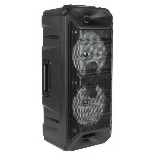 бумбокс+Bluetooth+USB+SD+радио+аккумулятор+микрофон+эквалайзер+светомузыка ZQS-6205