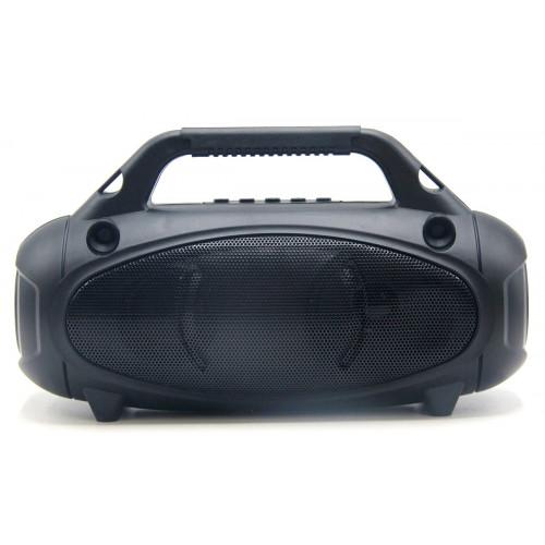 бумбокс+Bluetooth+USB+SD+радио+фонарик+аккумулятор+светомузыка+солнечная зарядка ZQS-T311