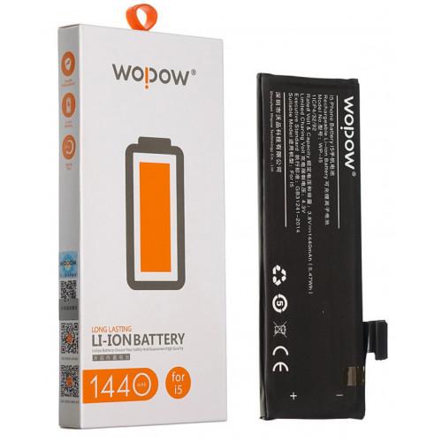аккумулятор для Iphone 5 Wopow 1440mAh