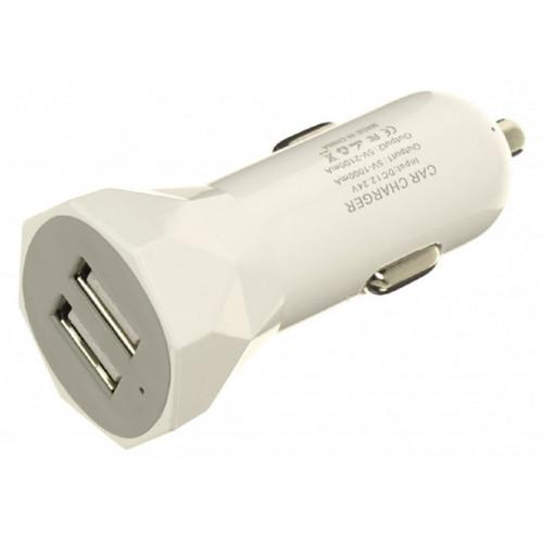авто зарядка 2 USB, 2A (AF01)