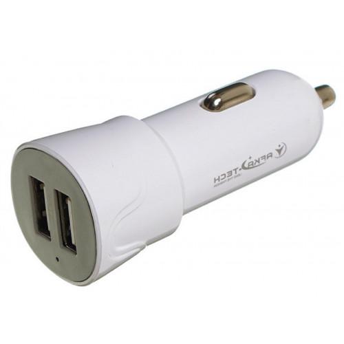 авто зарядка 2 USB, 2A (AF02)