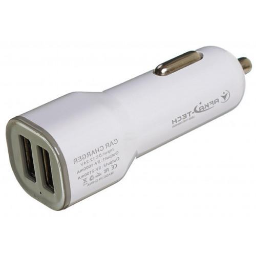 авто зарядка 2 USB, 2A (AF03)