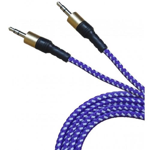 кабель AUX в оплетки дорогой 471 (1,5метр)