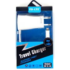 сетевое зарядное устройство+USB T38