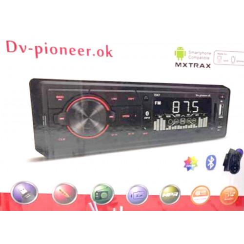 автомагнитола+Bluetooth+USB+AUX+Радио 7047