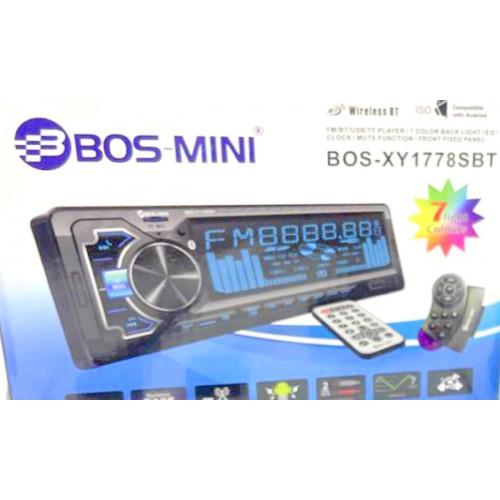 автомагнитола+Bluetooth+USB+AUX+Радио BO-XY1778SBT