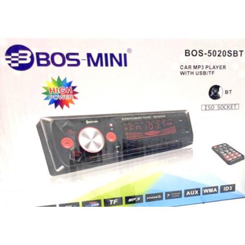 автомагнитола+Bluetooth+USB+AUX+Радио BOS-5020SBT