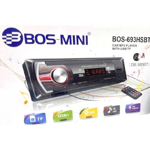 автомагнитола+Bluetooth+USB+AUX+Радио BOS-693HSBT