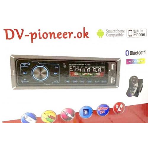 автомагнитола+Bluetooth+USB+AUX+Радио JSD-1016