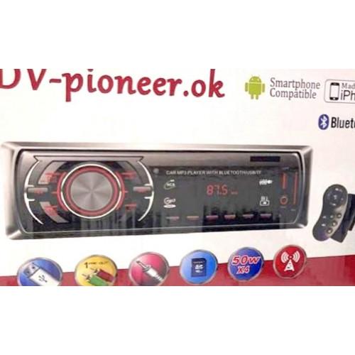 автомагнитола+Bluetooth+USB+AUX+Радио JSD-1402