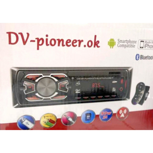 автомагнитола+Bluetooth+USB+AUX+Радио JSD-1408