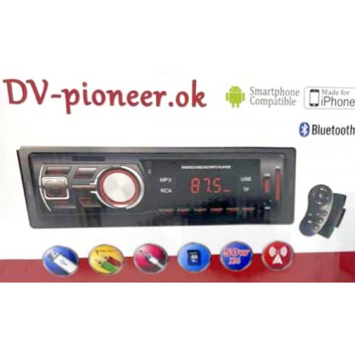 автомагнитола+Bluetooth+USB+AUX+Радио Pioneer JSD-2101