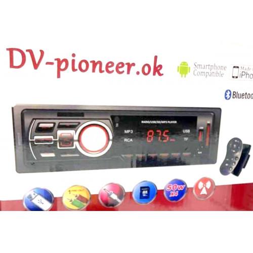 автомагнитола+Bluetooth+USB+AUX+Радио Pioneer JSD-2104