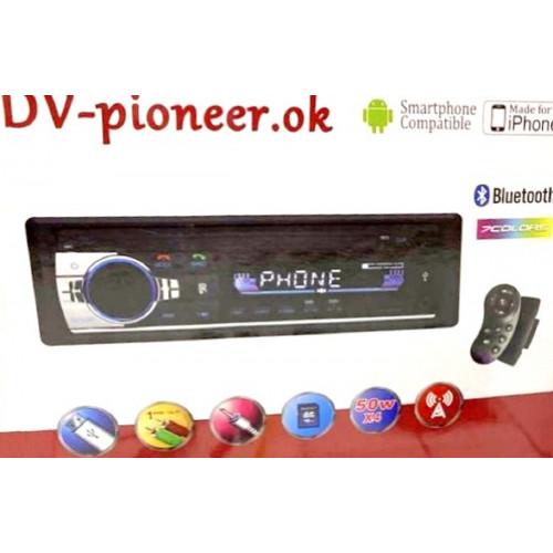 автомагнитола+Bluetooth+USB+AUX+Радио JSD-520