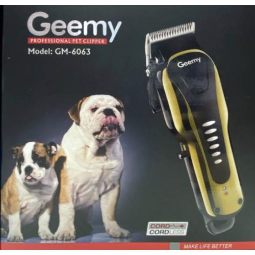 машинка для стрижки волос животных Gemei GM-6063