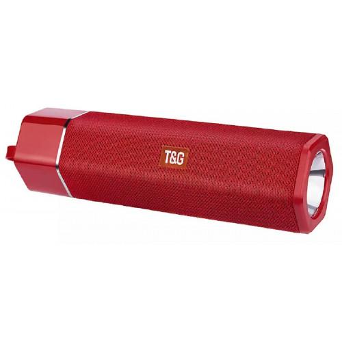 колонка TG-603+Bluetooth+USB+радио+4 динамика+фонарик+аккумулятор