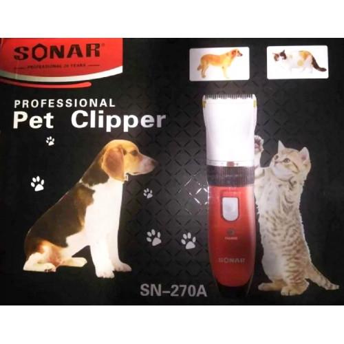 машинка для стрижки волос животных Sonar SN-270A