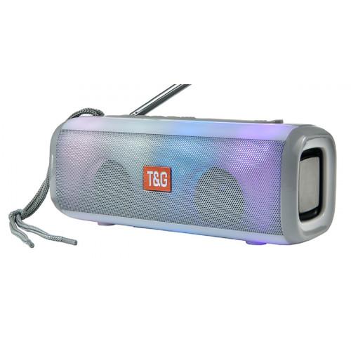 колонка TG-144+Bluetooth+USB+радио+4 динамика+аккумулятор