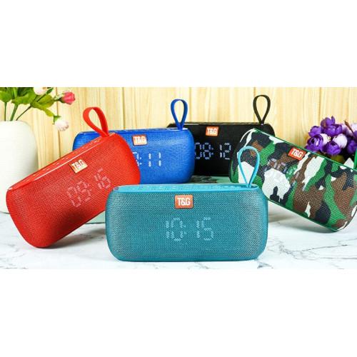 колонка TG-177+Bluetooth+USB+часы+радио+4 динамика+аккумулятор