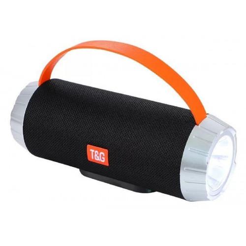 колонка TG-501+Bluetooth+USB+радио+4 динамика+фонарик+аккумулятор