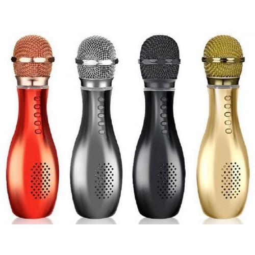 колонка микрофон+Bluetooth+USB+радио+аккумулятор Q007