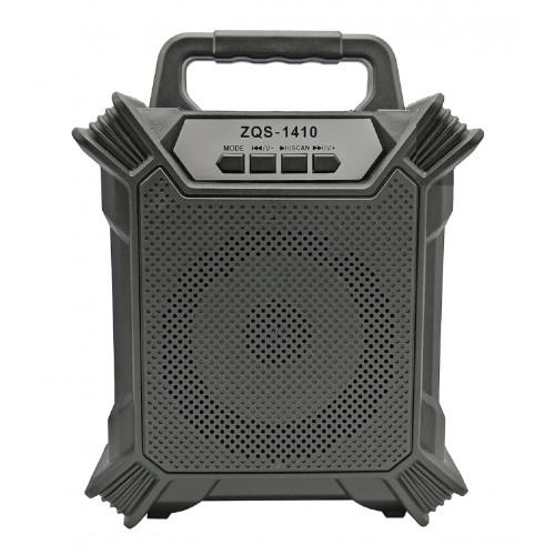 бумбокс+Bluetooth+USB+SD+радио+аккумулятор+светомузыка ZQS-1410