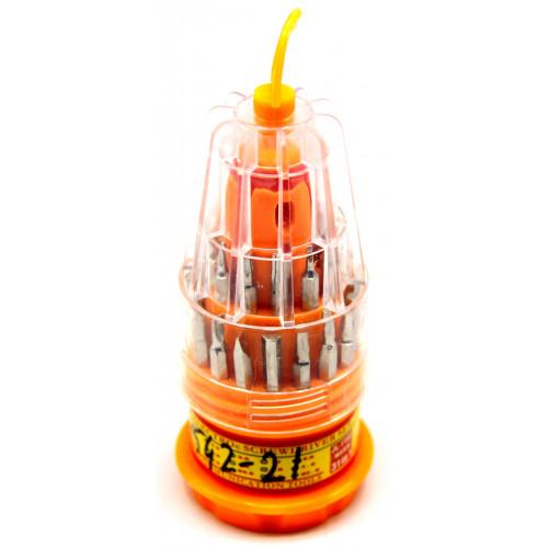 набор отверток+насадки 31в1 JL-1160 (14542-21)