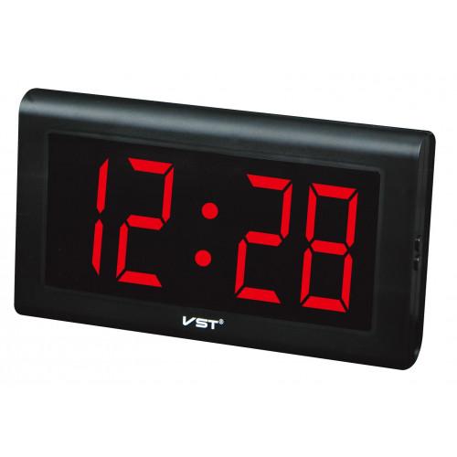 часы настенные VST-795/1 (красный) 1 сорт